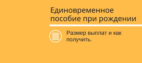 Как оформить пособие по рождению ребенка через портал госуслуг г.Москва